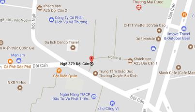 Bản đồ tới công ty LKAT