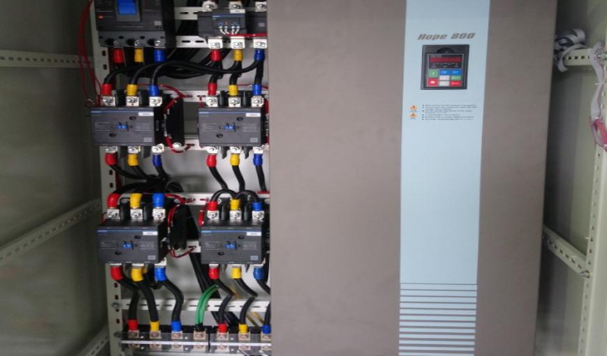 Thiết kế, lắp đặt tủ điện có sử dụng biến tần